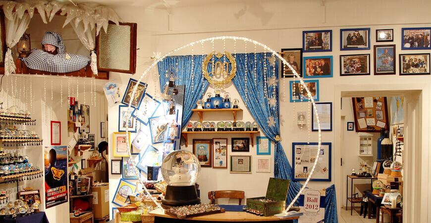 Музей снежных шаров в Вене
