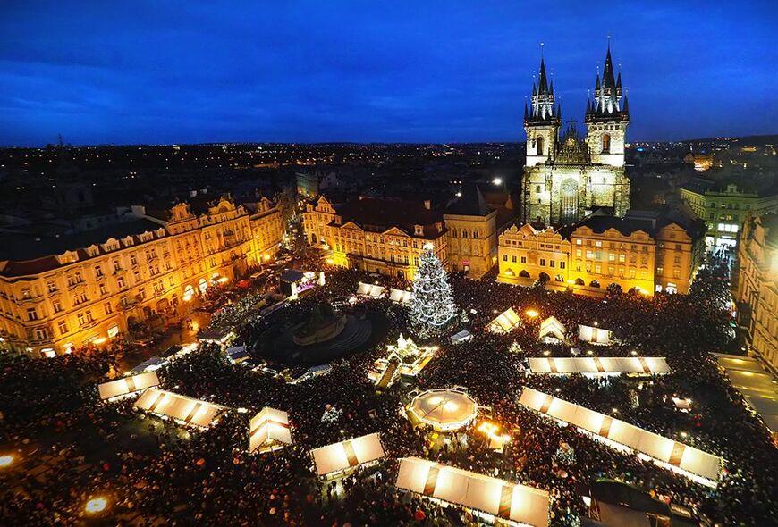 Рождественские ярмарки в Праге: куда пойти и что купить