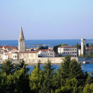 Самостоятельно по Истрии — хорватский Пореч