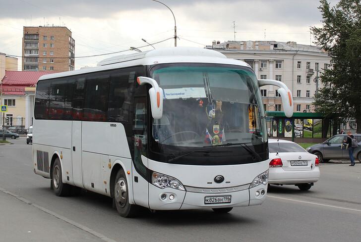 Автобус Екатеринбург — Реж