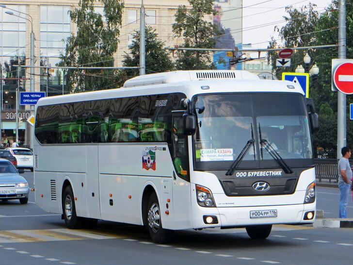 Автобус Казань — Самара