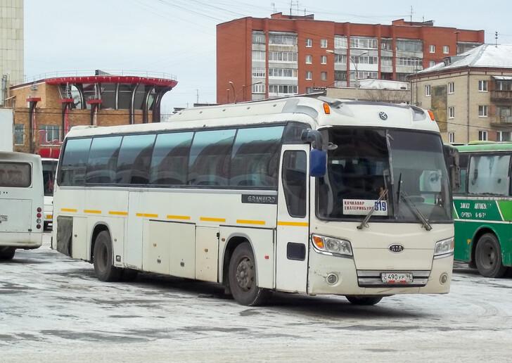 Автобус Екатеринбург — Качканар