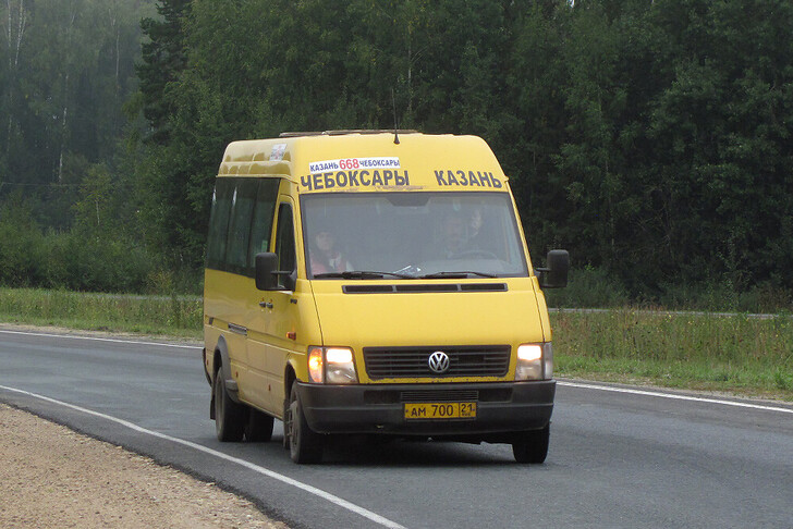 Автобус Казань — Чебоксары