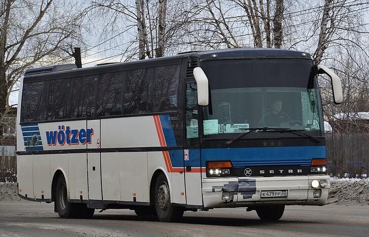 Автобус Екатеринбург — Краснотурьинск
