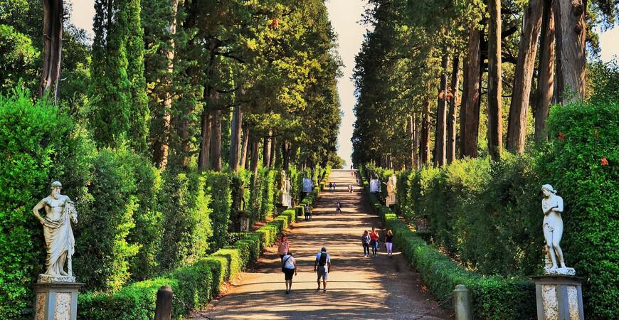 Сады Боболи (Giardino di Boboli)