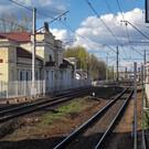 Варшавский ж/д вокзал в Гатчине