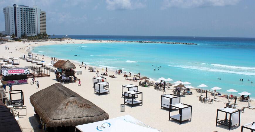 Пляж Гавиота Асуль