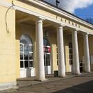 Балтийский ж/д вокзал в Гатчине