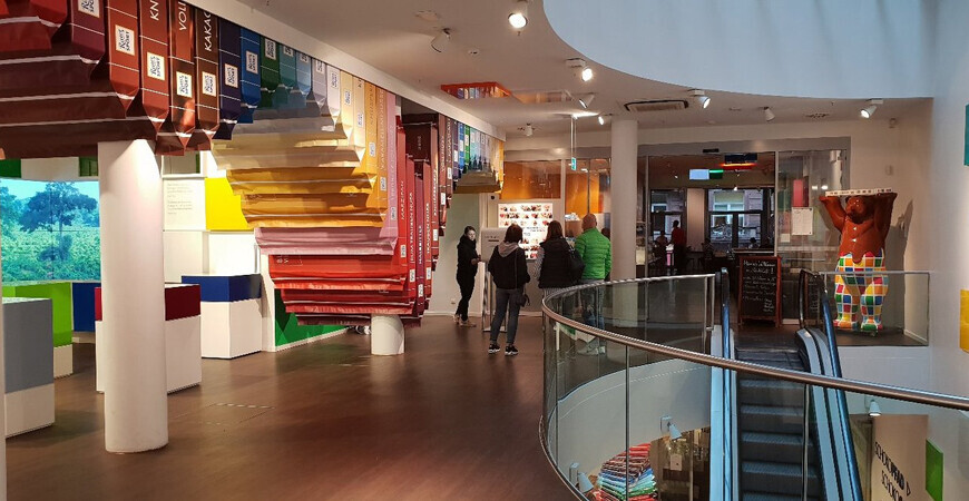 Музей-магазин «Риттер Спорт» в Берлине