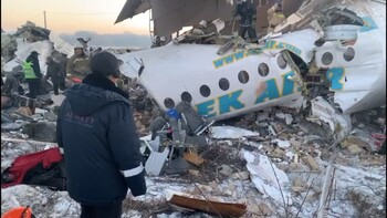 Количество пострадавших в крушении самолёта в Казахстане возросло до 53 человек
