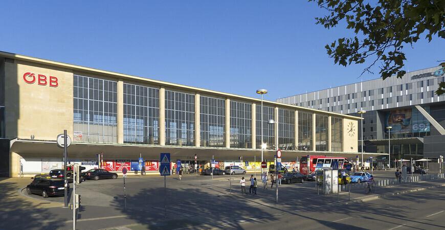 Западный вокзал Вены<br/> (Wien Westbahnhof)