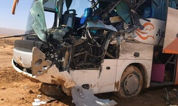 В Египте два автобуса с туристами попали в ДТП