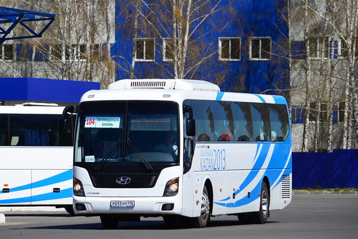 Автобус Зеленодольск — Казань