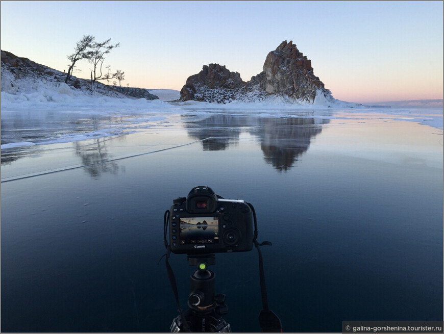 Байкальские каникулы. Часть 4. Зеркальный лед, ледяные занавески и ледовый плен