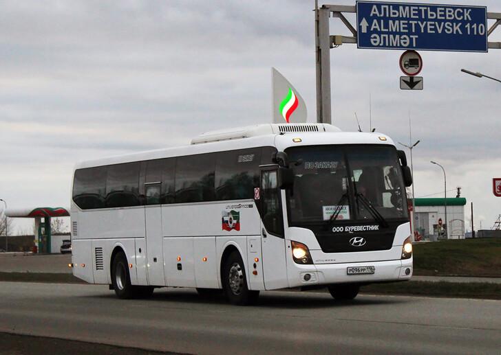 Автобус Казань — Нижнекамск