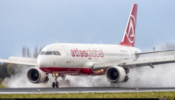 Atlasglobal снова отменяет рейсы в РФ и Европу
