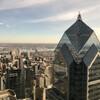 Башня Libery 2 со смотровой площадки Liberty 1. Филадельфия - первая столица США, обзорная индивидуальная экскурсия с Ярославом Бондаренко.