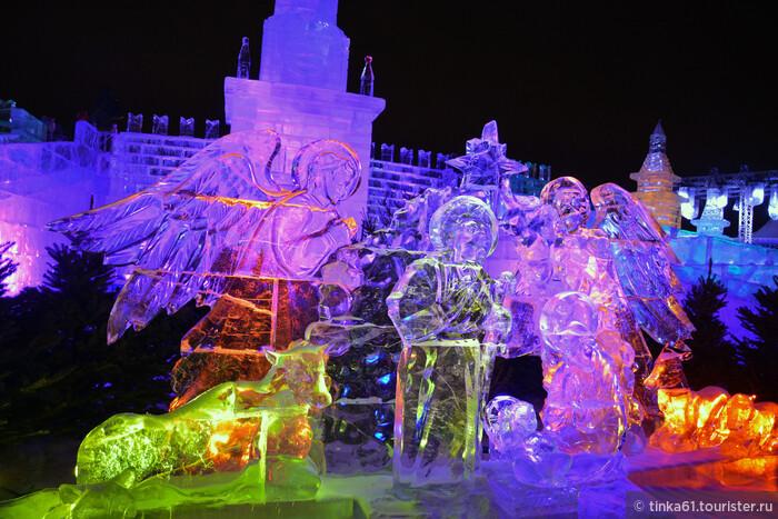 Ледовый городок на Поклонной горе