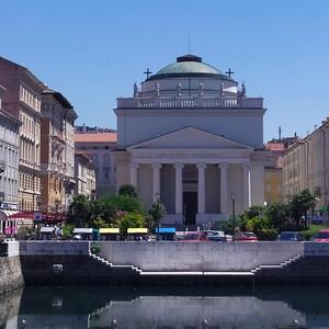Итальянский Триест — район Старого города и Гранд-канала