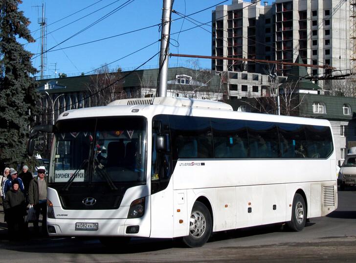 Автобус Воронеж — Курск