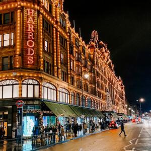 Рождество на улицах Лондона