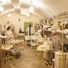 Музей в скальном госпитале с ядерным бункером