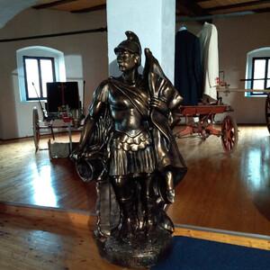Музей пожарной техники в замке Вильдштейн