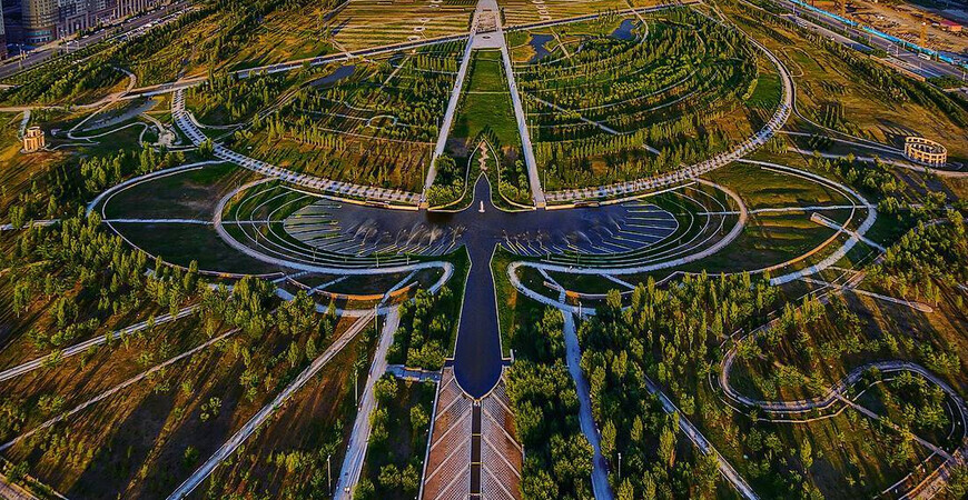 Президентский парк <br> Нур-Султана