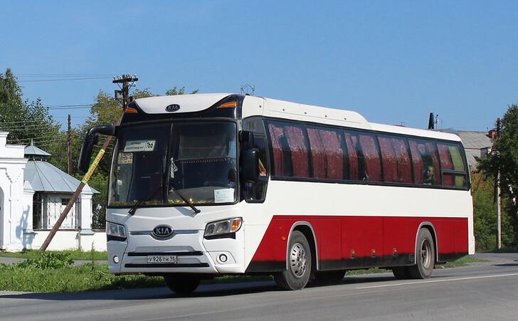 Автобус Екатеринбург — Талица