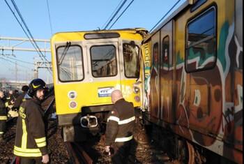 В метро Неаполя столкнулись три поезда