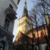 Церковь Олевисте - старейший ориентир торговым судам.