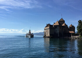 Швейцарская Ривьера. Монтрё и Шильонский замок
