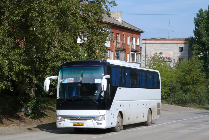 Автобус Екатеринбург — Дегтярск