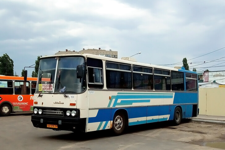 Автобус Воронеж — Острогожск