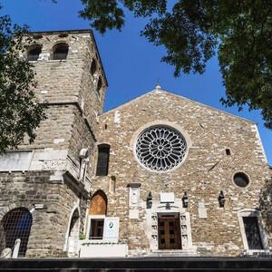 Самый древний храм Триеста — средневековый Кафедральный собор Сан-Джусто