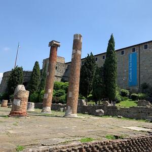 Средневековая крепость Сан-Джусто в Триесте