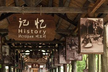 Музей истории в деревне народностей Ли и Мяо