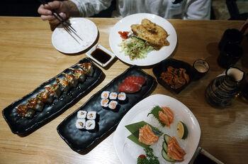 Ужин в ресторане Саньи