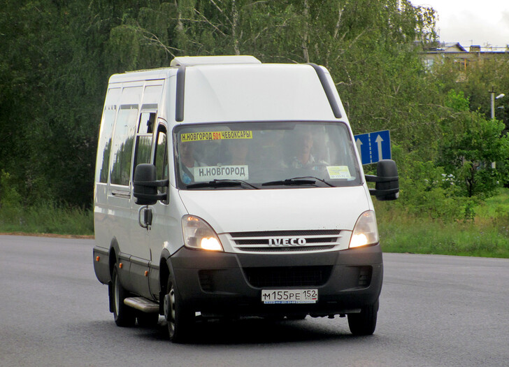 Автобус Нижний Новгород — Чебоксары