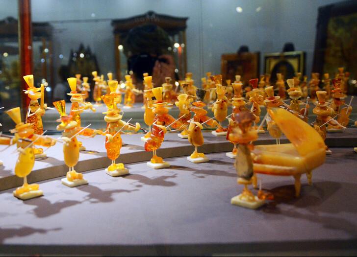 В Музее янтаря