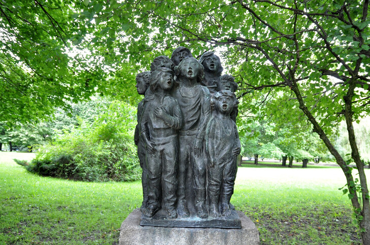 «Поющие дети» в Парке скульптур