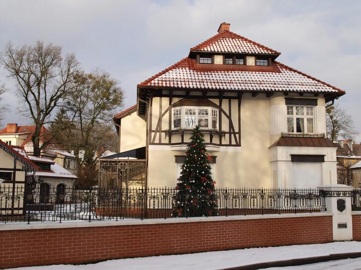 Один из немецких домов в районе Амалиенау