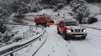 В Испании жертвами снежной бури стали три человека