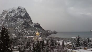 Снежный шторм ожидается в Крыму