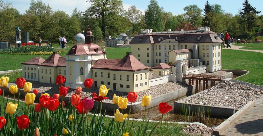 Парк миниатюр в Берлине