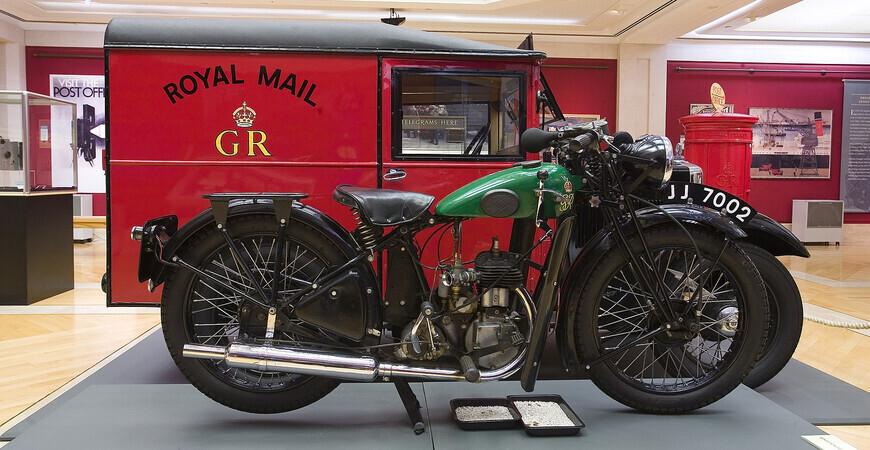 Музей почты в Лондоне
