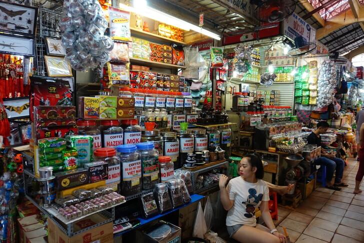Рынок Бен Тань в Хошимине