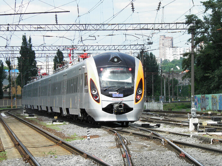 Поезд Киев — Константиновка