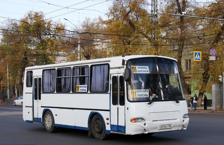 Автобус Воронеж — Рамонь