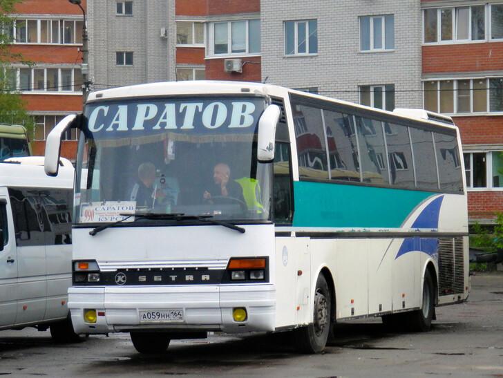 Автобус Саратов — Воронеж